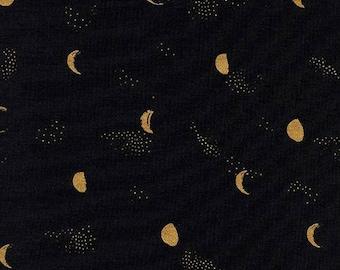 Cotton + Steel - Santa Fe by Sarah Watts - Night Moon Phase (metallic) - Modern Maker Box