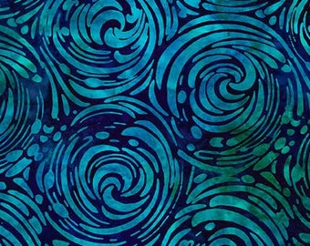 Ariel Binding - Robert Kaufman Artisan Batiks - AMD-17784-59 Ocean