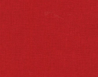 Robert Kaufman Fabrics - Quilter's Linen - ETJ9864-91 Crimson