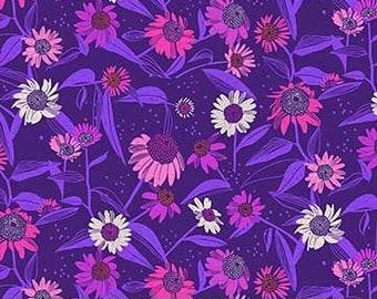 FIGO - Flora - Dark Purple - Echinacea - 90145.52  - Floral