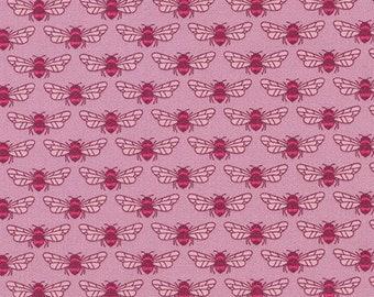 Robert Kaufman Fabrics - Berry Season by Elizabeth Hartman - 18093-401 Foxglove