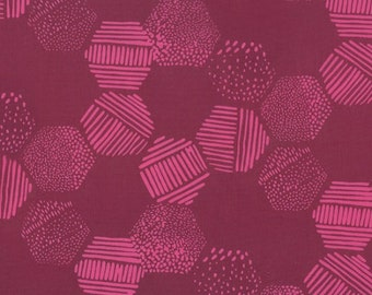Hoffman Fabrics - Indah Batiks by Me + You - #180-38 Burgundy