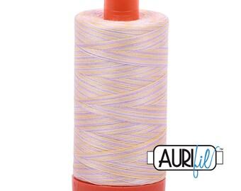 50 Wt AURIFIL - Bari 4651 - Variegated 1300M Cotton Quilting Thread