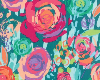 Rumba #2 - Moda Fabrics, Painted Garden, 11810-17 (Fall Mystery 2018)