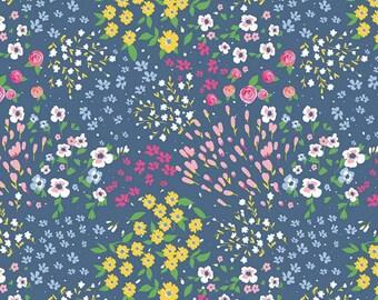 Riley Blake Designs - Poppy & Posey by Dodi Lee Poulsen - C10581-Navy