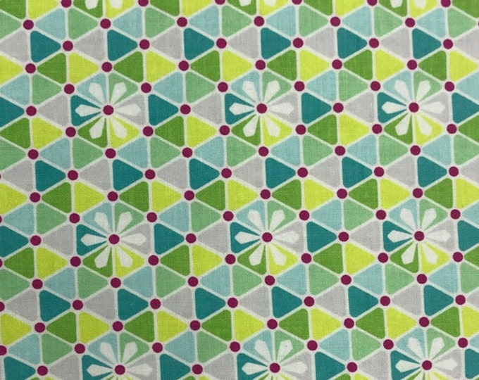 CLEARANCE - Riley Blake - Flit and Bloom by Patty Young - C6535 Teal