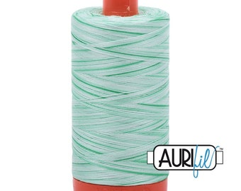 50 Wt AURIFIL - Bubblegum 3660 - Variegated 1300M Cotton Quilting Thread (MK50SP3660)