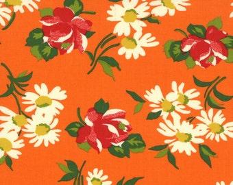 Moda - It's Elementary by American Jane - Orange Floral - 21783-13