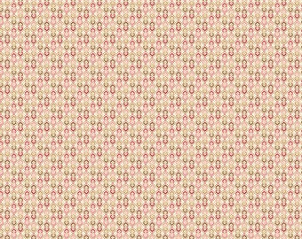 Andover Fabrics - Pink Tile - Carlisle by Kathy Hall - Reproduction
