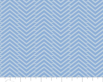 5 Yard Cut - Camelot Fabrics - Mixology Marina in Herringbone - Blenders