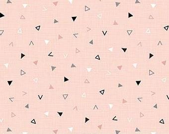 Northcott Fabrics - Cosmo Pink Multi - Triangle Toss - 23044.21 - Modern Maker Box
