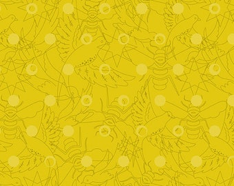CLEARANCE - Andover Fabrics - Sun Prints 2017 by Alison Glass - A-8484-Y