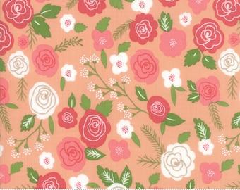 Moda Fabrics - Lollipop Garden by Lella Boutique - 5080 18 - Peach Floral