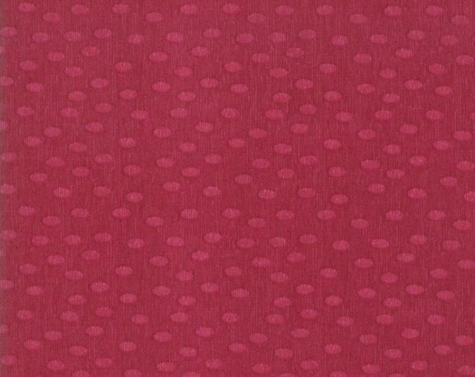 CLEARANCE - Moda - Painted Meadow Burgundy - 48665 19