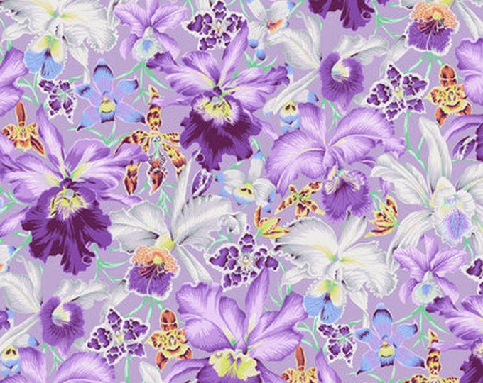 CLEARANCE - Free Spirit - Kaffe Fassett - Spring 2018 - Orchids - Red - PWPJ092.COOLX