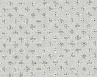 Robert Kaufman - Wayside by Karen Lewis - Grey stitch on grey (AWIM-18691-12) - Modern Maker Box