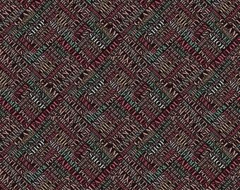 Riley Blake Fabrics - Glam Girl by Dani Mogstad - SC8632 Black - Modern Maker Box - Metallic