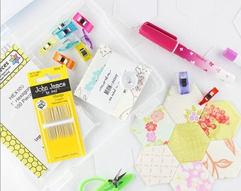 English Paper Piecing (EPP) Starter Kit - everything you need to get started!
