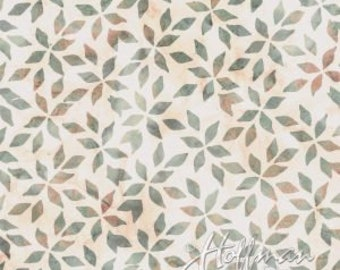 Foxglove #2 and Hydrangea #1 - Hoffman Fabric - Petal and Vines (P2034-458 - Trellis)