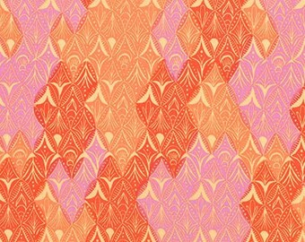 Regan Fabric F and Binding - Robert Kaufman Marmalade Dreams by Valori Wells - AVW-17898-232 - Wineberry