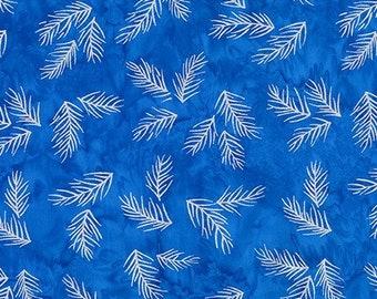 Robert Kaufman - Northwoods 8 Batiks - AMD-18774-4 BLUE(Batiks)