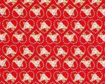 CLEARANCE - Riley Blake - Kewpie Love - C5823 Red