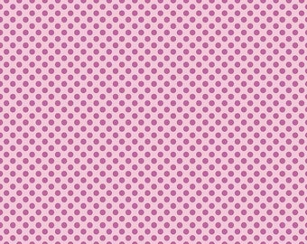 Cordelia Fabric F - Fairy Garden by Riley Blake - C7725 - Pink - Dot in Pink