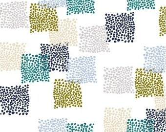 Windham Fabrics - Field Day by Kelly Ventura - 51275-5 - Cool Squares - Blender