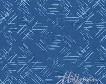 Hoffman Fabrics - Bali Batiks - 1245H-258 - Ballroom Binding (Fall Mystery 2018)