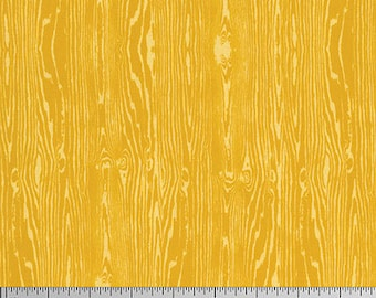 CLEARANCE - Free Spirit - Wood Grain - Joel Dewberry True Colors (PWTC008 - Gold) - Blenders