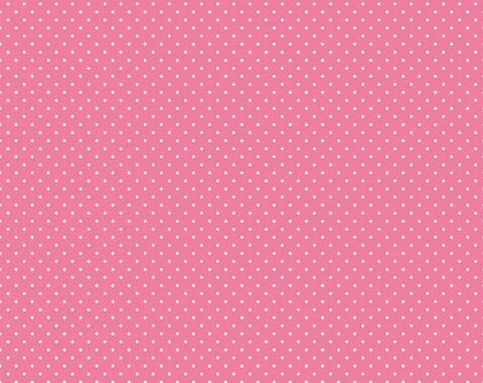 CLEARANCE - Riley Blake - Swiss Dots - C670-70 Hot Pink