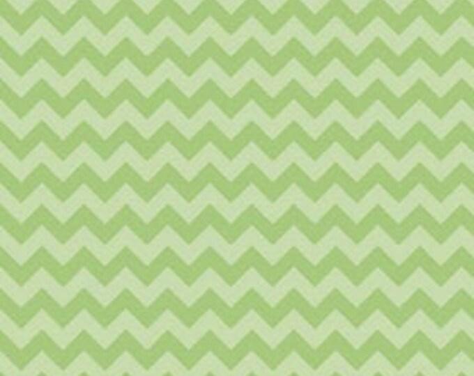 CLEARANCE - Riley Blake - Small Chevron - C400-31 Green