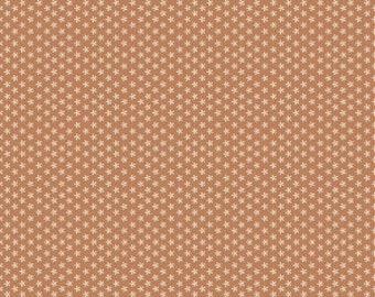 Riley Blake Designs - Cinnamon Tiny Daisy - Bee Basics by Lori Holt (C6403- Cinnamon) blenders