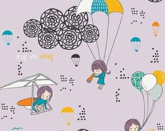 Art Gallery Fabrics - Sisu by AGF Studio - Hei Sky Lavenderine (SSU-20052) - Juvenile