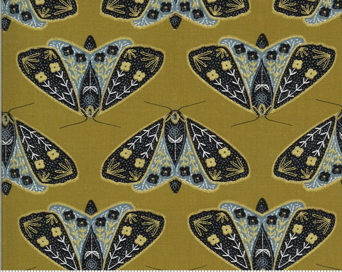 Moda - Dwell in Possibility by Gingiber - Umber Moth - 48311 18M