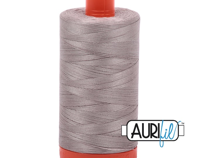 50 Wt AURIFIL Brindle 6730  Mako Made in Italy 1300m Quilt Cotton Quilting Thread (MK50SC6)