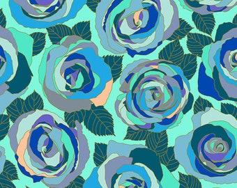 Andover Fabrics - Mosaic by Shannon Brinkley - Wintergreen Mosaic Roses (A-8880-B) - Modern Maker Box