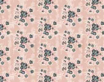 One Yard Cut - Abbie by Sue Daley for Riley Blake Fabrics - C7711 Pink -  Quilters Cotton