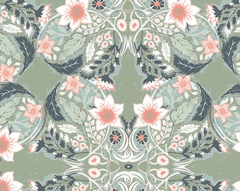 Art Gallery Fabrics - Picturesque by Katarina Roccella - Ornatile Vert - PIC-39455