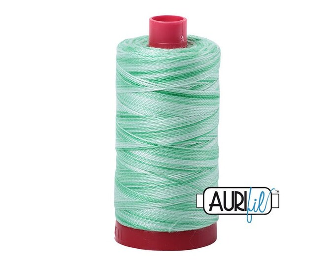50 Wt AURIFIL Mint Julep 4661 Mako Made in Italy 1300m Quilt Cotton Quilting Thread (MK50SC6)