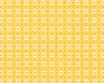 Robert Kaufman Fabrics - Penny's Dollhouse II by Darlene Zimmerman - Screaming Yellow (ADZ-17961-140)