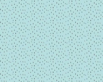 One Yard Cut - Abbie by Sue Daley for Riley Blake Fabrics - C7716 Aqua -  Quilters Cotton