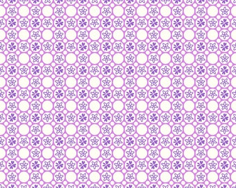 RJR Fabrics - Everything But the Kitchen Sink by RJR Studios - Dottie in Lilac - 3599-003
