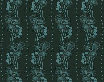 Free Spirit Fabrics - Second Nature by Anna Maria Horner - Buttercups in Emerald (PWAM009) - Modern Maker Box