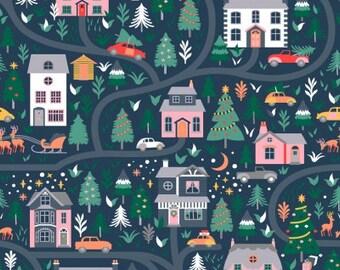 CLEARANCE - Dear Stella Fabrics - Waiting for Santa - STELLA-1011 - Holiday and Seasonal (Christmas)