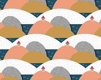 FIGO Fabrics - Special Delivery by Lemonni - (90016 - 10 - White) - Juvenile