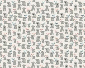 Riley Blake Fabrics - Joey by Deena Rutter - C8491 - Cream (Juvenile)