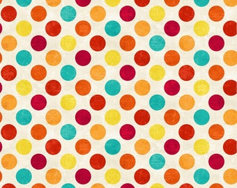 Northcott Fabrics - Spot On - Hot Sauce (22606-58) - Blender