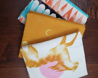 3 Half Yard Fabric Bundle - Santa Fe by Sarah Watts for C+S - Cotton