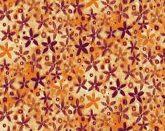 CLEARANCE - P&B Textiles - Gold Inlay Leaves - Shades of Autumn by Norman Wyatt Jr - Holiday and Seasonal
